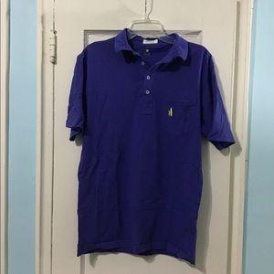 Johnnie-O Blue Polo Shirt